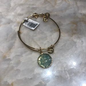 "Gold alex and ani ""the spirit"" bracelet"